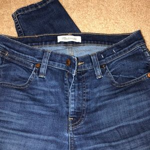 Madewell Jeans - Madewell High Rise Skinny Crop